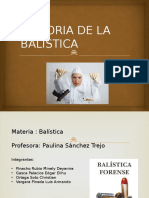 Historia de La Balistica