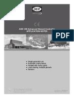 AGC 200 application notes AGC, 4189340611 UK_2013.05.31
