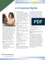 Para Entender El Trastorno Bipolar