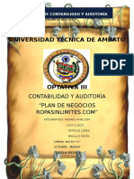 Plan de Negocios Ropasinlimites.com