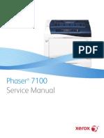 service manual phaser7100 computer networking technology rh scribd com xerox 7100 service manual Xerox Phaser 7100 Brochure