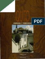 Quito 07 Comunas y Parroquias