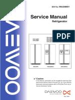 Daewoo Refrgerador Frs-u201sm Manual Tecnico
