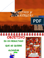 p.e. Objetivos y Estrategias