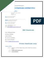 Lahore Chemicals Companies