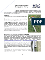 Step by Step Guide to Dumpy Level Survey