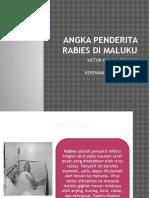 Angka Penderita Rabies Di Maluku