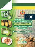 Manual Tecnico Del Maracuya en El Huila