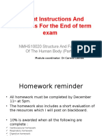 Student Instructions and Guidelines End of Term Exam(1)