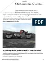 Truck Modelling