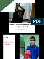 Panorama de Las Escuelas Artísticas en Chile