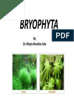 Bryophyta PDF