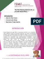Aspectos Psicologicos de La Evaluacion Pediatrica