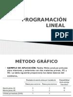 Clase Programación Lineal
