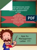 Management Letter Ppt