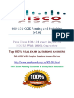 Pass4sure 400-101 Exam Question
