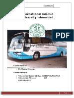 International financial management Project