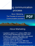 Marketing Communication Process