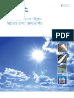 Foam Fillers Tapes Sealants Brochure