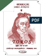 TOROS SIGLOS XIX al XXI