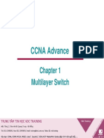 Chapter 1 - Multi Layer Switch