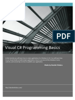 Visual C# Programming Basics