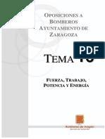 TEMA-30 Fuerza, Trabajo, Potencia y Energía