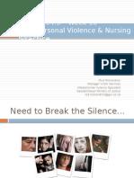 N304 Week 10 Interpersonal Violence College of Nursing (Student Copy)