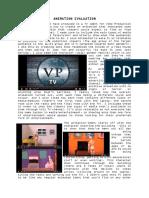 animation evaluation