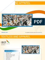 Textiles and Apparel August 2015