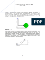 esercizio 1 fluidodinamica