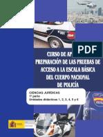 Policia Nacional Ciencias Juridicas UD1