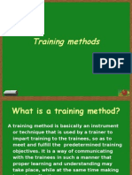 Training Methods