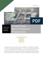 Skripta-repetitorijum medicinske fiziologije