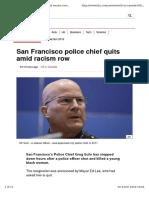 San Francisco Police Chief