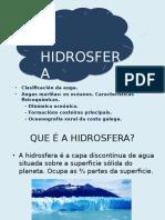 Hidrosfera 3ªevaluación Cintia