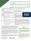 ES Parent Bulletin Vol#18 2016 May20