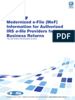 Modernized e-File (MeF)