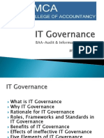 BAA AIS IT Governance