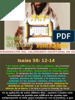 Capitulo 26 Reconsideracion Del Calendario Toratico