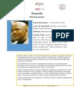 Biografia Michael Jordan Maria Afonso