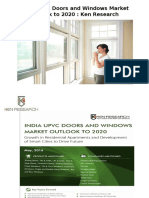 India UPVC Doors and Windows Market Outlook to 2020 |Fold and Slide Doors India