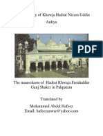 Biography of Khaja NIZAMUDDIN AULIYA