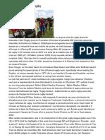 Info Et Actualité Rugby