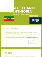climate change in ethiopia