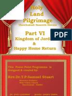 Part VI Holy Land Pilgrimage Northern Israel