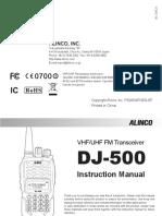 Dj500te New Manual