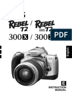 canon rebel k2 35mm slr camera owner s manual exposure rh scribd com Canon Rebel Film Camera Manual Canon EOS Rebel T2i Camera