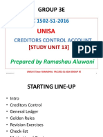 FAC1502 Creditors Control Notes