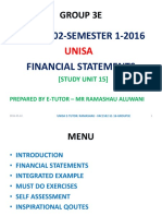 FAC1502 Financial Statements Notes